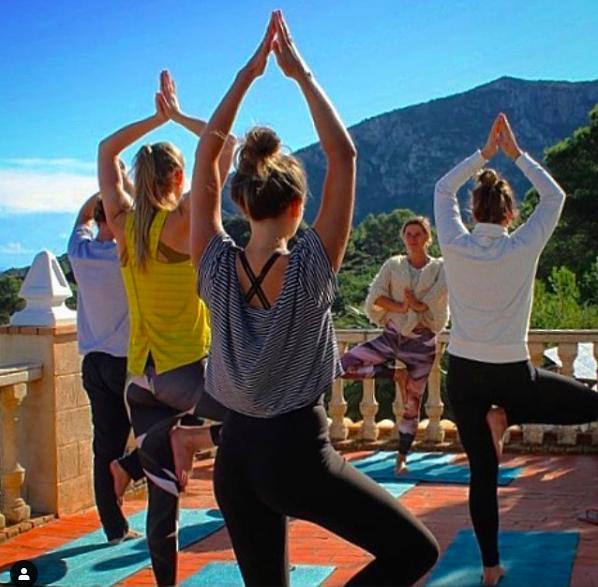 Yoga holiday at Casa Tarsan