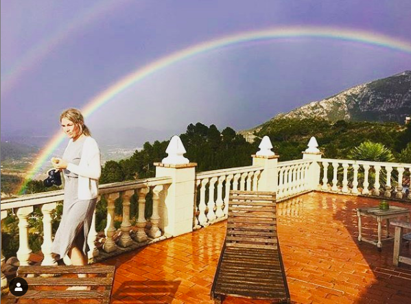 double rainbows at the 360Suite terrace